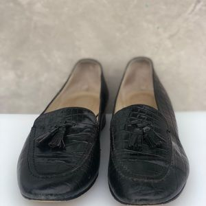 Telbots Italian All Leather Dk Brown Loafers